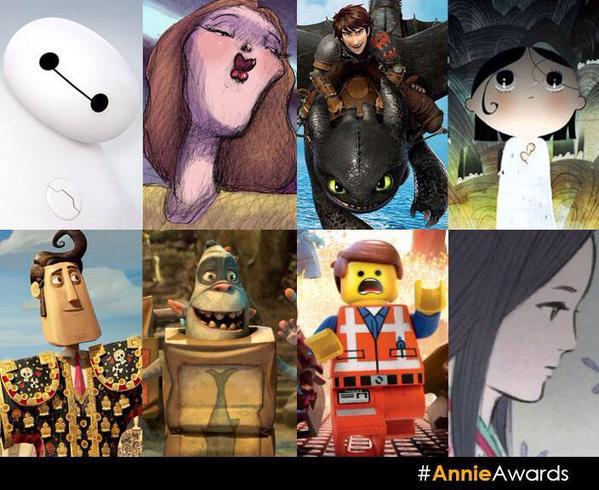 42 премия Annie Awards 2015, победители