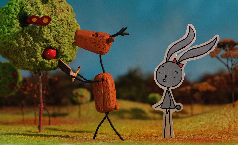 Анимация дружбы, не ограниченной измерениями