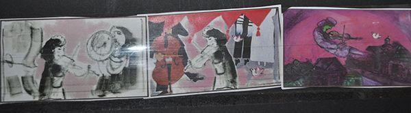 Беларусьфильм работает над мультфильмом о ранних годах Шагала