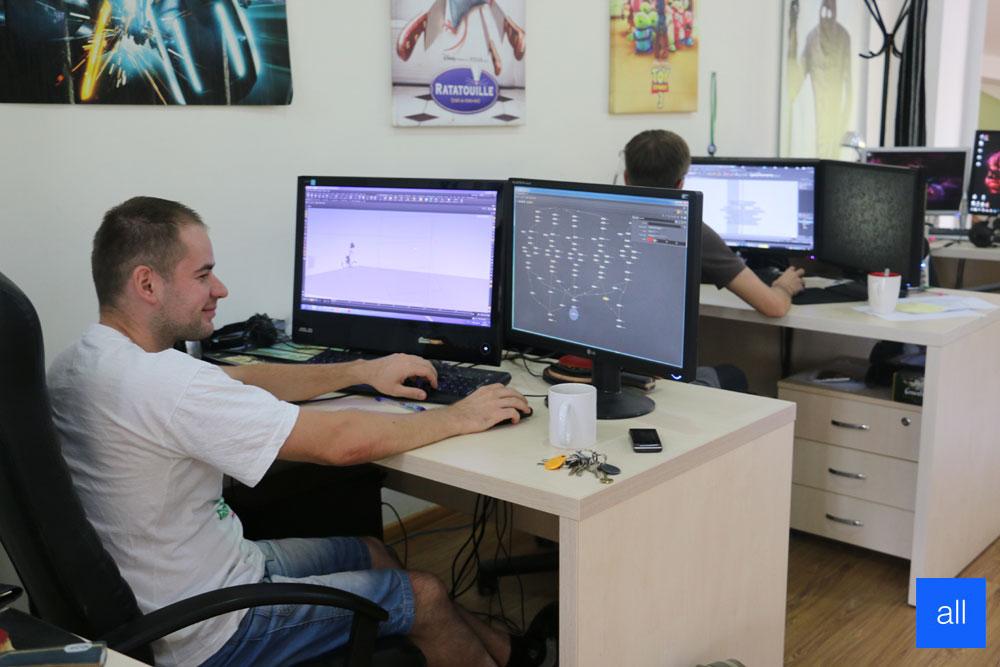 Дмитрий Волошин: Нам нравится делать мультфильмы