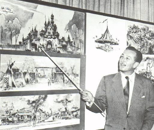 История создания Диснейленда