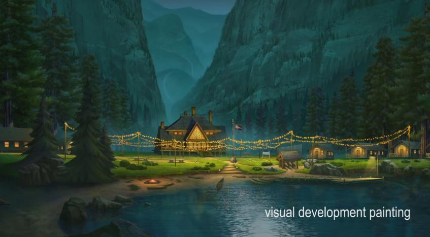 Как работала дизайн команда мультфильма Отель Трансильвания 2