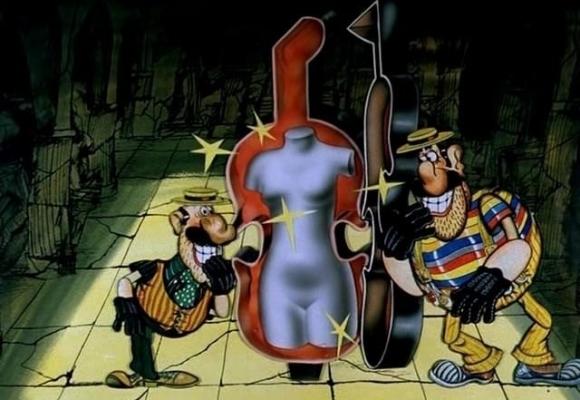 Как создавался мультфильм Приключения капитана Врунгеля