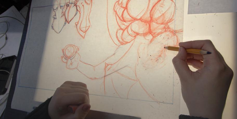 Мультипликационный эффект анимационной студии Мельница