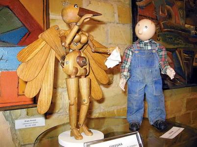 Олег Педан как делать куклы для анимации