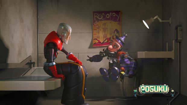 Первый белорусский мультфильм Робики 3D покажут в 20 странах