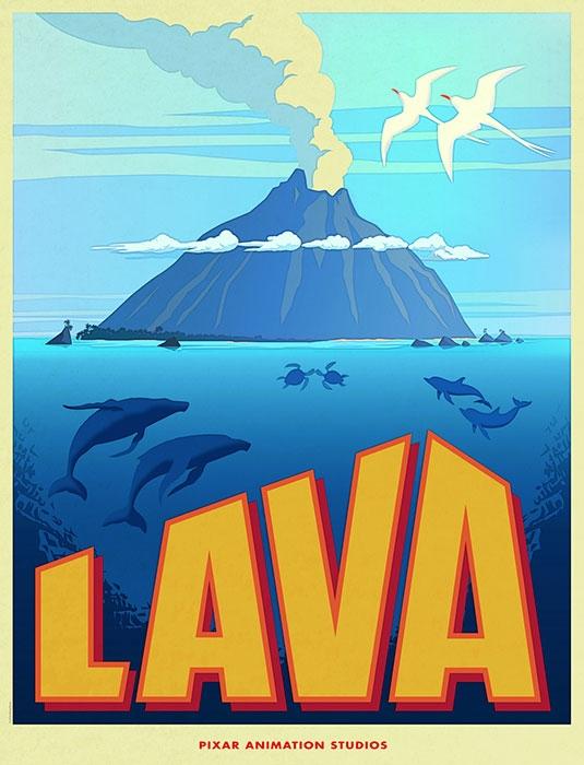 Pixar использовала видеокарты NVIDIA для анимации поющего вулкана