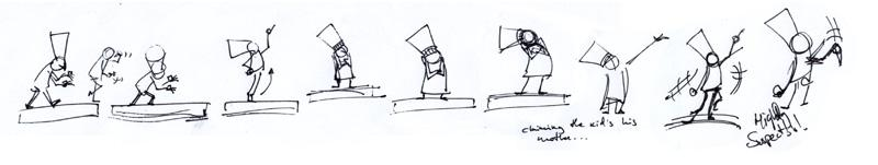 Планирование анимации с помощью быстрых набросков