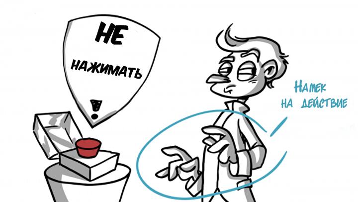 Подготовка к действию в анимации