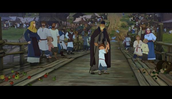 Российский мультфильм о Сергии Радонежском