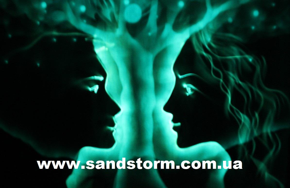 Шоу Рисование Светом от SandStorm Art Group