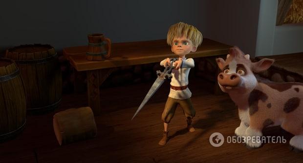 Украинский 3D мультфильм Никита Кожемяка