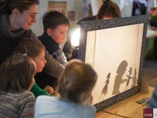 В Одессе впервые заработал детский театр теней