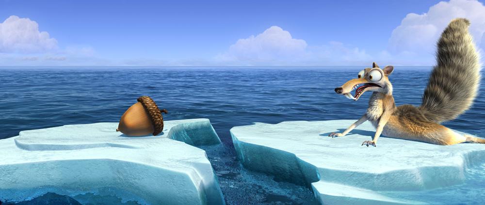 Еще один пример, когда второстепенный персонаж не уступает в обаянии главным героям. Кадр из мультфильма «Ледниковый период 4: Континентальный дрейф» (2012) / Фото: 20th Century Fox