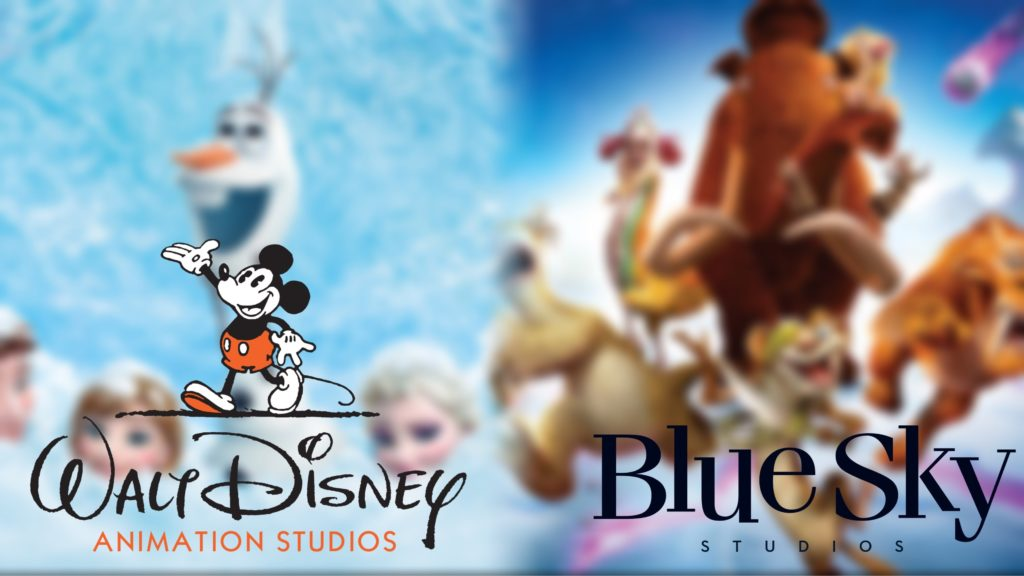 Disney and blu sky