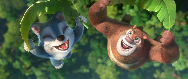 Медведи Буни побег из джунглей