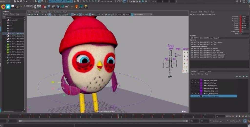 Обработка анимации