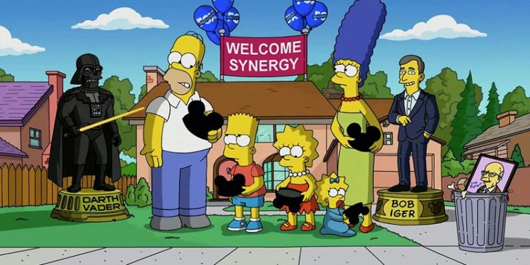 Симпсоны в Дисней