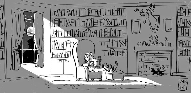 Управление взглядом зрителя в анимации