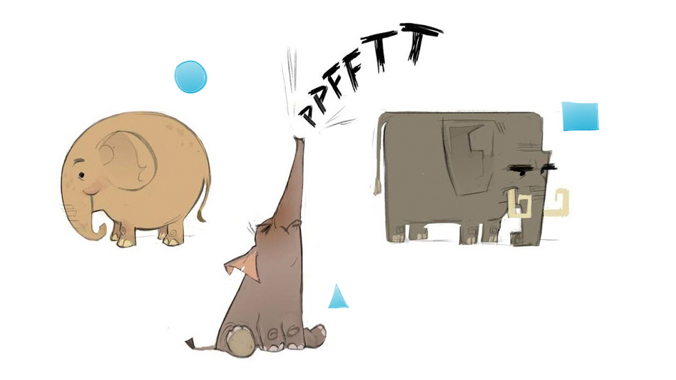 Язык формы в анимации