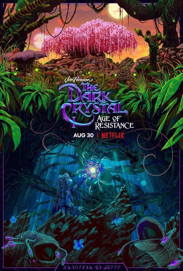 dark crystal age of resistance poster