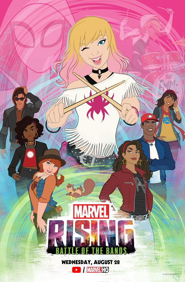 marvel rising battle of the bands