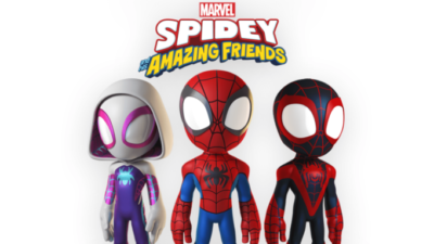 spidey friends line up