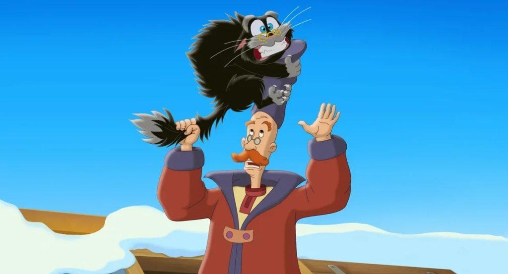 Кот и Серый Волк