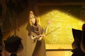 Учительница Альве
