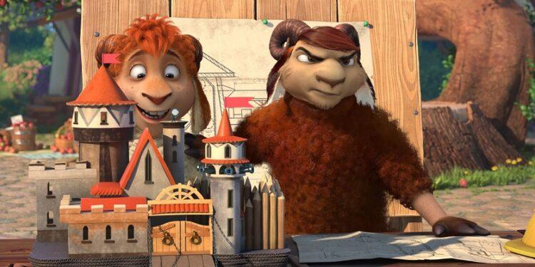 «Волки и Овцы: Ход Свиньей» номинирован на премию Cartoons on the Bay