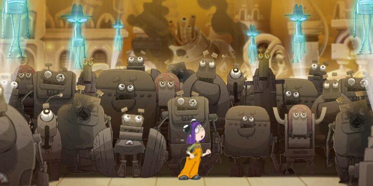 Украинский мультфильм Виктор Робот
