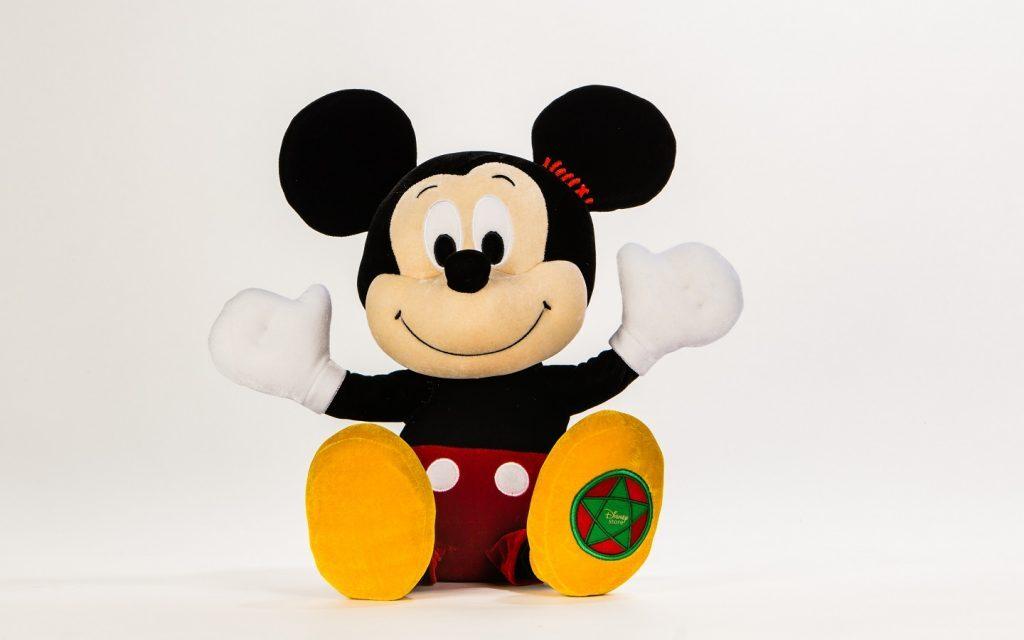 Винтажная игрушка Микки Мауса